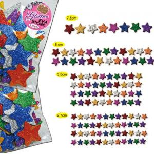 (120Pcs) Glitter EVA Sticker series