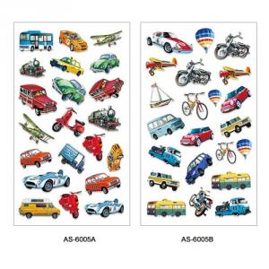 AS-6005~6009 Art paper sticker series