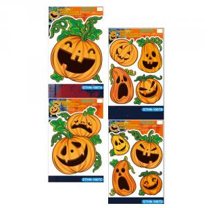 Halloween Glow in the Dark Window Decorations series